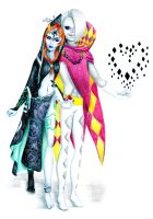 Midna and Ghirahim by 7essa