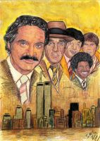 12th Precinct Guardians - Barney Miller by smjblessing