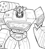 Soundwave quick sketch by Charger426