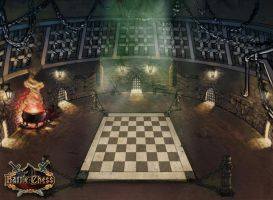 Env. Concept Battle Chess 1 by Bullettrainstudios
