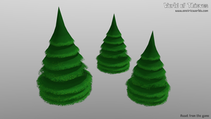 F for Fir Tree - Blender Month by Matou31
