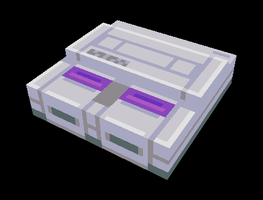 3D Super Nintendo by Goodlyay