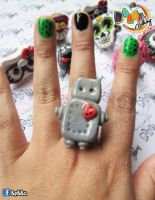 Robot by BeBBaclothing