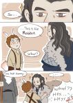 Thorin and Bilbo first meet by GorryBear