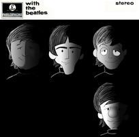 With The Beatles by julie090995