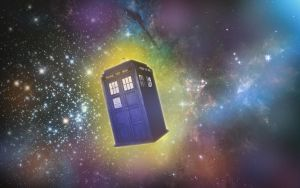 Tardis In Space by TexasBean