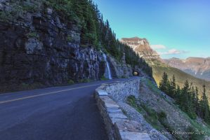 Going to the Sun Road by Mac-Wiz