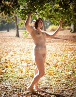 Fall Nude Series- Sam by TheGreenFairy