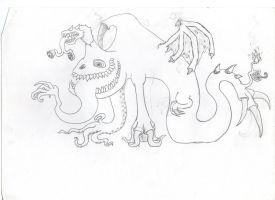 mutant monsters by MooshuFezrit