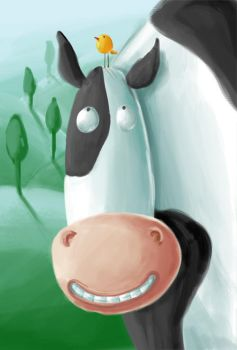 Cow by Aaron-Randy