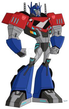 Animated Optimus Prime-RID 2.0 by TylerMirage