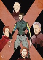 X-Men: Days of Future Past by Guinicius