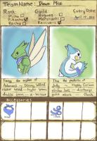 PMD Explorers: Team Dawn Mist by dragseal