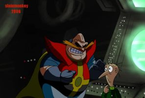 Robotnik and Snively by Slainmonkey