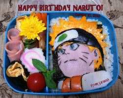 Naruto B-day Lunch Box by SarangheOrochimaru