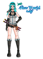New World Outfit by zoro4me3