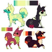 Canine Adoptees by Samooraii