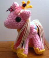 Princess Cadance Plushie - My Little Pony by kaerfel