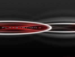 PS3 Red Carbon Wallpaper by reyjdesigns