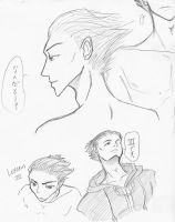 KH Lexeaus Sketches by HolyDemon