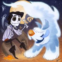 Prince Eric Skellington by Fairygodflea