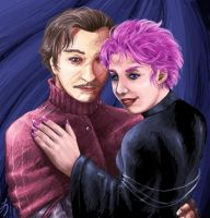 Remus and Tonks - Actor Vers. by Laverinth
