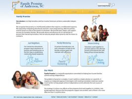 Family Promise Website Mockup by dhrandy