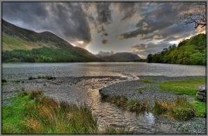 Buttermere Evening by Rebacan