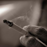 Smoking in silence by S-t-r-a-n-g-e