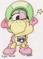 Kylie Koopa - Thumbs up maties by Boltonartist