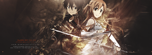 Sword Art Online ` Kirito and Asuna by ShanksTorpedo