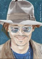 Johnny Depp - Las Vegas 2013 by shaman-art