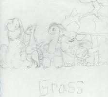 Grass Pokemon by gir-is-me