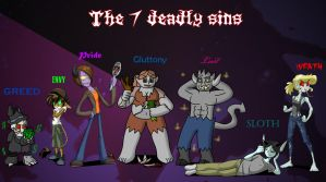 The 7 deadly sins by s0s2