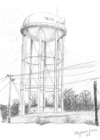 Water Tower by eclecticmuse