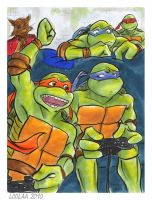 TMNT: Because I'm Awesome by loolaa