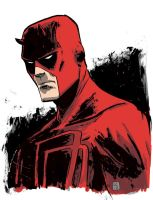 Daredevil Drawing 2 by JasonCopland