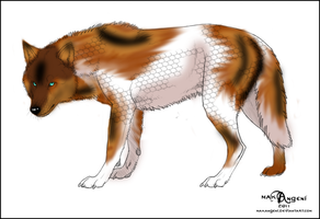 Wolf for Featherys by Lady-Abbington