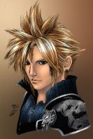 Cloud Strife by maehao