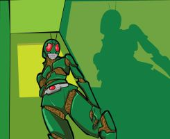 Kamen Rider Unknown by soetiono