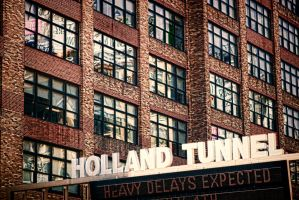 Holland Tunnel Sign by TomFawls