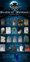Realm Of Fantasy Graveyard by GloriaPM