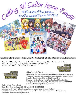 Moonie Events at Glass City Con 2015 by lilly-peacecraft