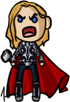 Marvel Cinematic Universe - Thor by shrimp-pops