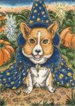 The Quaint Wizard (ACEO) by Keyshe54