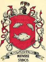 Galvin Family Crest by Weirdonian