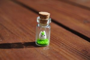 Small Totoro by knyttets
