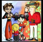 Xiaolin Monks by Lotus-Dragon by Xiaolin-showdown