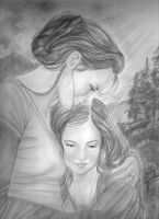 Mother and  child by Allie06