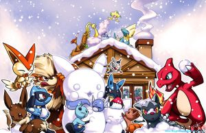 Happy Winter Holiday!! by Ninja-Jamal